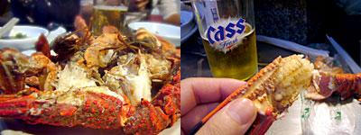 釜山旅行:蟹も。