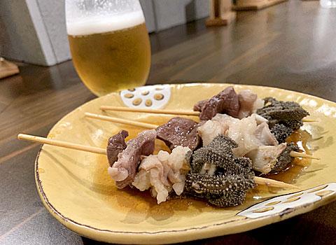 NIKOMIGUSHI ますたーど:和牛もつ煮込み串