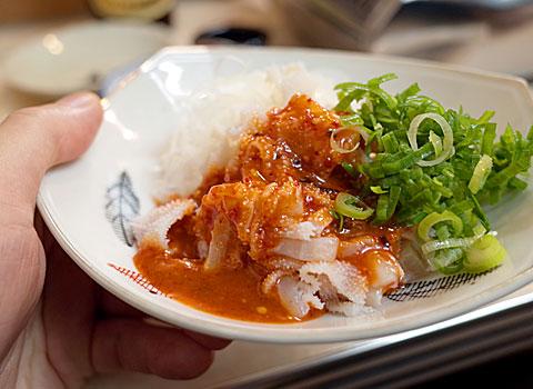 肉肴 なおちゃん:センマイ