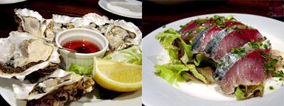九十九島 殻付き生牡蠣&五島サバのマリネ