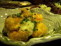 『 アカチチ 』 ジーマミー豆腐の揚げ出し