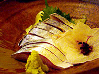 『 五島サバと九州の幸 きはる 』 泳ぎサバ刺し