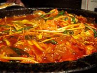 『 和韓 たもん 』 石焼タッカルビ鍋