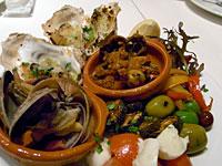 『 Euro table(ユーロテーブル) 』前菜の盛り合わせ