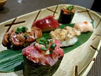 『 鶏専門 味味どり(あじみどり) 』 鶏寿司盛り合わせ