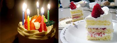 「トルテン シュトゥック」のショートケーキ