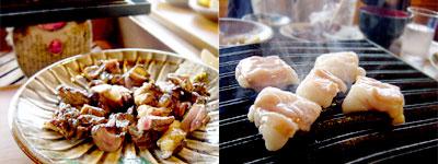 地鶏のモモ焼き