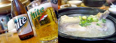 釜山旅行:参鶏湯(サムゲタン)