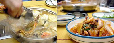 釜山旅行:ナッチポックン(手長ダコ炒め)