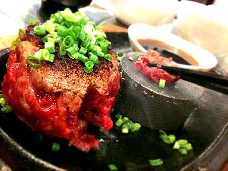 極味や:伊万里牛ジューシーとろハンバーグステーキ