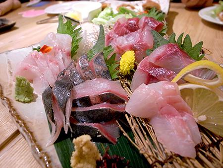 FISH&FISH (フィッシュアンドフィッシュ):刺身